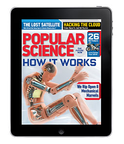 Popular Science iPad Edition Has Sold 10,000 Subscriptions