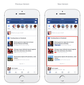 Facebook Lets Publishers Put Logos Next to Headlines