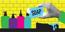 Soap Cleans Up By Raising the Bar