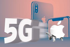 Apple is losing the 5G race