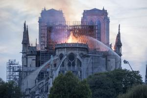 YouTube flags Notre-Dame Cathedral fire as 9/11 conspiracy