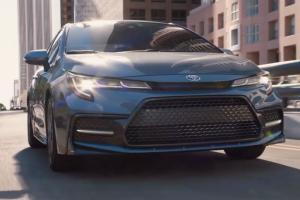 Toyota tries  disruptive  Corolla campaign