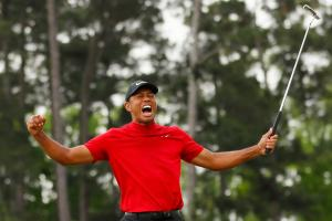 In making history, Tiger Woods spins a wild TV ratings story