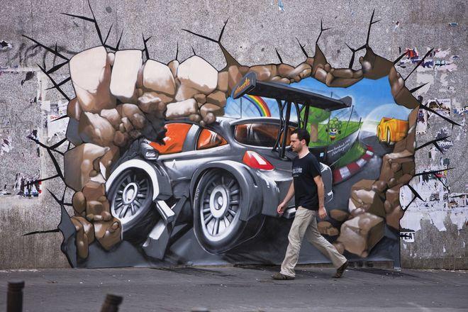 3D Street Art - Madrid
