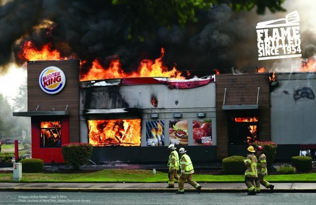 Flame-Grilled Burger King Ads Take Top Print & Publishing Prize at Cannes