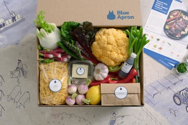 Rivals Whip Up New Pitches as Meal Delivery Kits Gain Ground