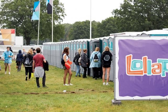 Tracking tech to shorten Lollapalooza loo lines?