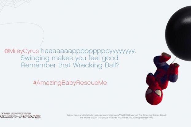 #AmazingBabyRescueMe