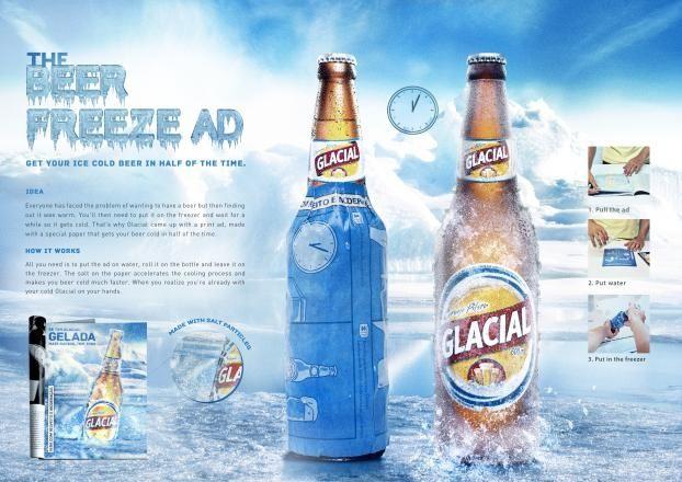 Freezer Print Ad