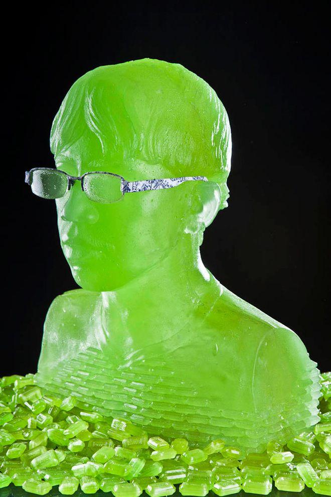 Green Grape Sculptures-Best of 2011 PD #9