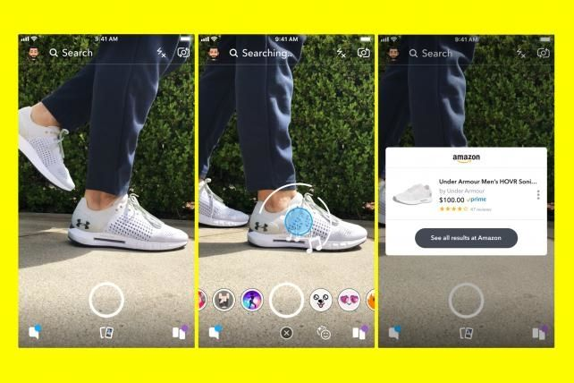 Snapchat, Amazon team up to form mobile-commerce power duo