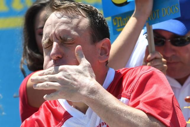 Can Nathan's hot dog hero Joey Chestnut cut the mustard on July 4?