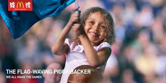 We All Make The Games - The Flag-Waving Piggy-Backer