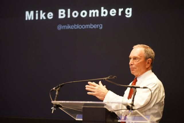Mike Bloomberg Appeals to Advertisers at His Company's NewFronts Pitch