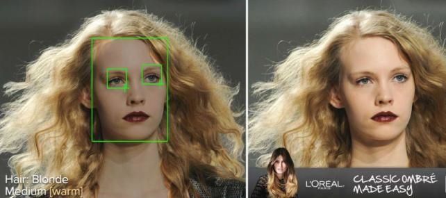 L'Oreal Targets Ads Based on Hair Color in Online Photos