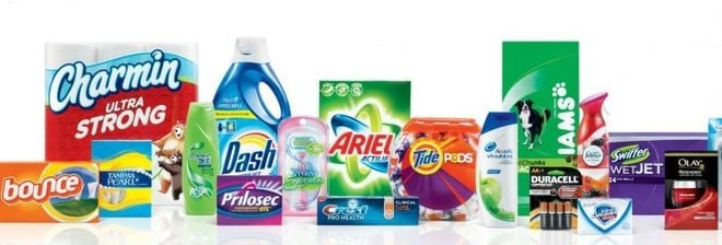 P&G Will Merge or Divest More Than Half of Its Brands