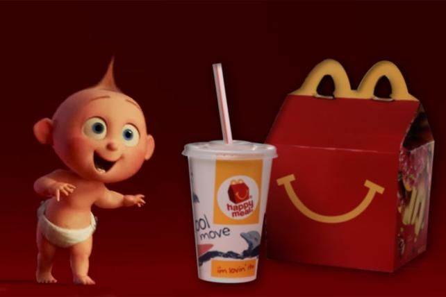 Disney, Now Happy with Happy Meals, Reunites with McDonald's