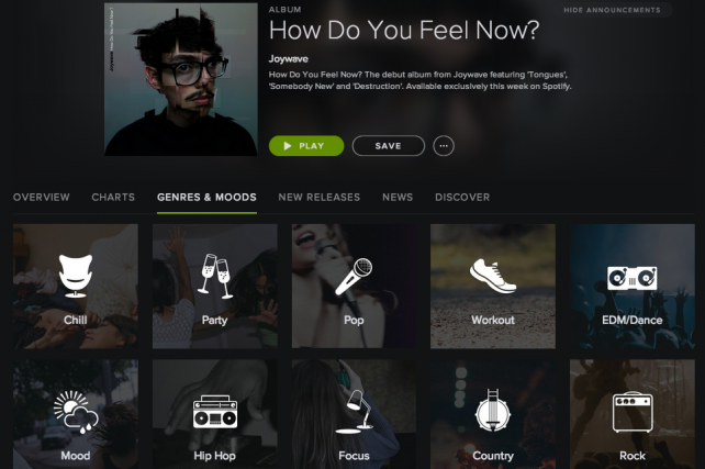 Spotify to Use Playlists as Proxy for Targeting Ads to Activities, Moods