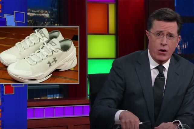 Under Armour's 'Chef Curry' Shoe Ridiculed, But Selling Well