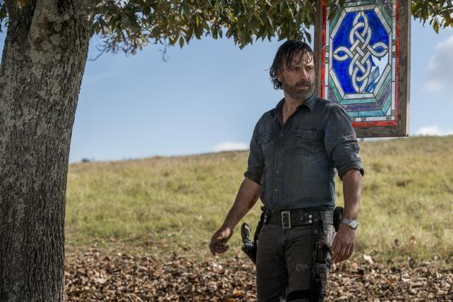 Not 'Dead' yet: Eight seasons in, AMC's zombie drama is bowed but unbroken