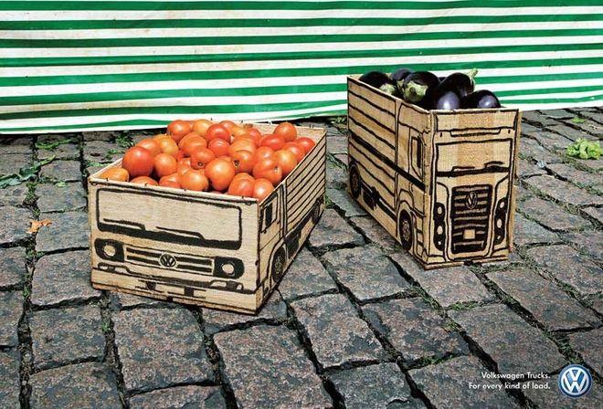 Customized Trucks - Vegetable Crates