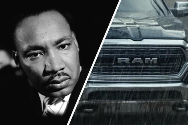 Ram Defends Super Bowl Ad, Says Martin Luther King Estate Approved it