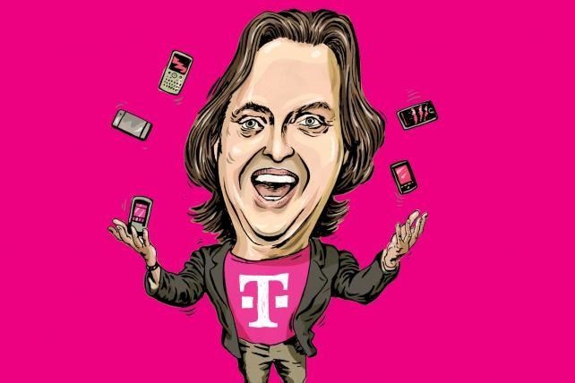 Q&AA: T-Mobile CEO John Legere Loves to Be Hated
