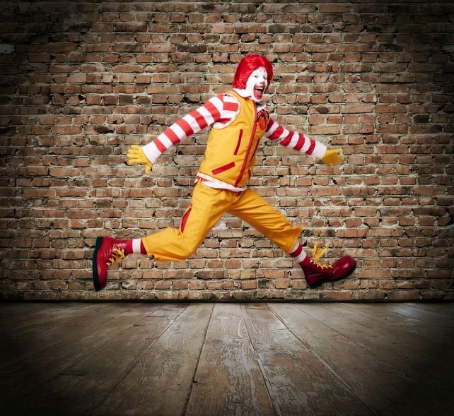 Check Out Ronald McDonald's Two New Looks