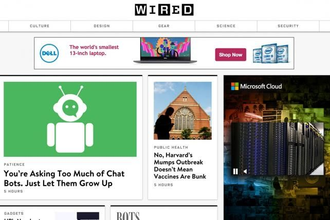 Checking in on Wired's Ad-Blocking Experiment, Including an Ad-Free Version