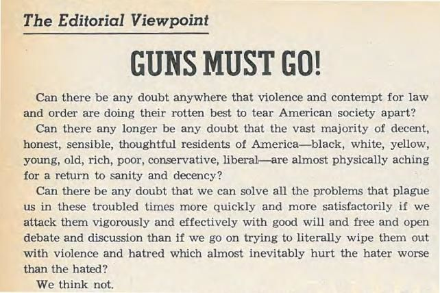 #TBT: The Time Ad Age Went All-In for Gun Control