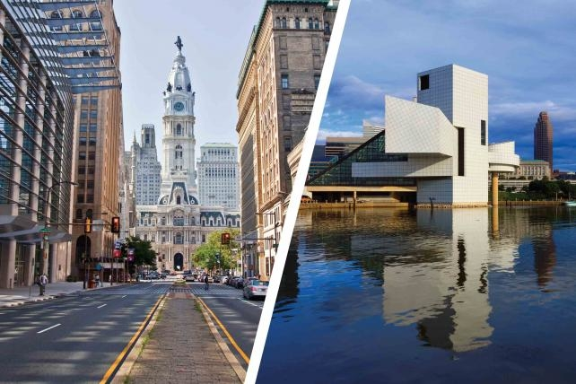 City Spotlight: As Political Convention Hosts, Cleveland, Philadelphia Are Ready for Their Close-Ups