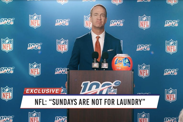 Tide: NFL means 'Not for Laundry'