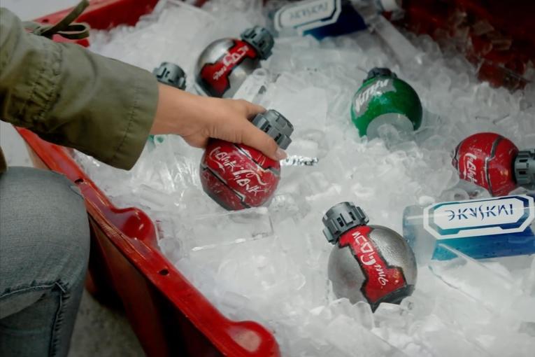 Coca-Cola: Droid Bottles