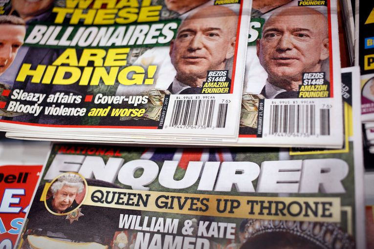National Enquirer and sibling tabloids reportedly sold for $100 million