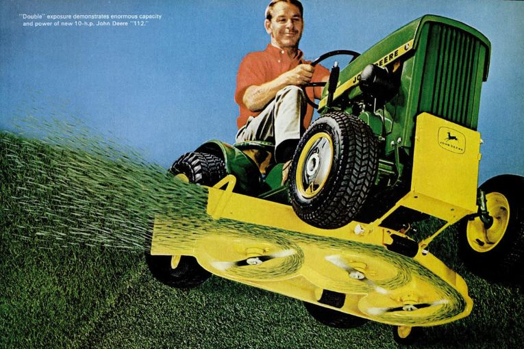 The Good Life: The lure of the lawnmower