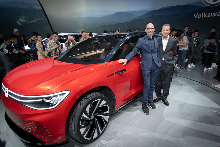 Volkswagen is already creating buzz for its electric vehicle