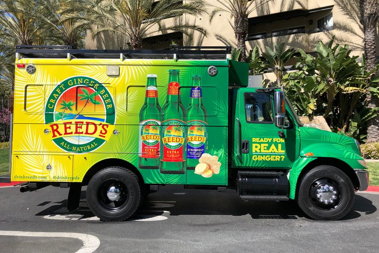 Reed's Ginger Beer takes aim at ginger ale, specifically Canada Dry