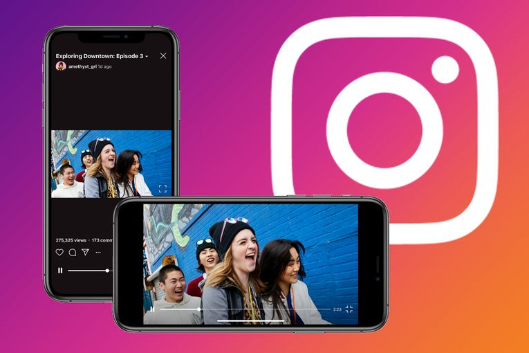 Instagram's IGTV finally gets horizontal video, and advertisers see new potential there
