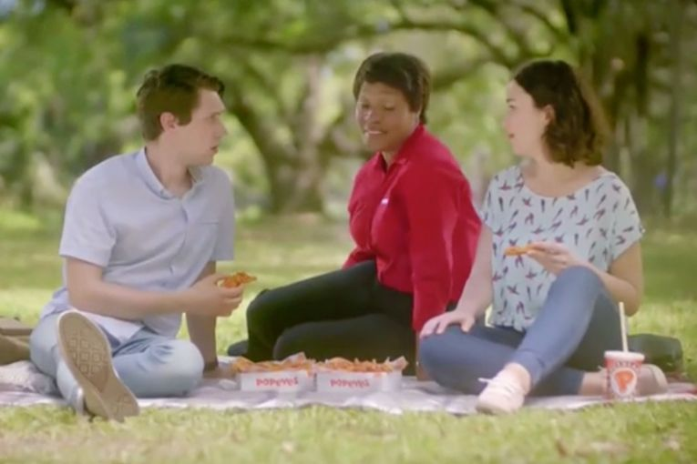 Watch the newest commercials on TV from Audible, Popeyes, Dunkin' and more