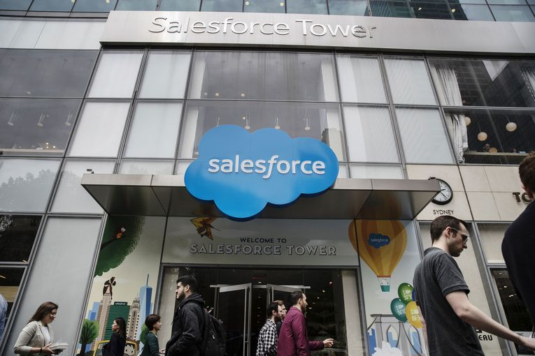 Salesforce projects continuing strong revenue growth