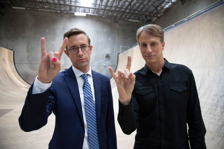 Bagel Bites reunites with Tony Hawk, 17 years later