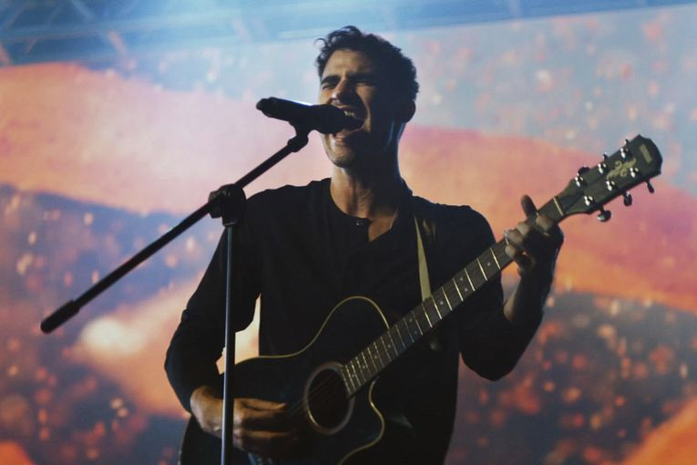 Darren Criss stars in Taco Bell's latest Nacho Fries campaign
