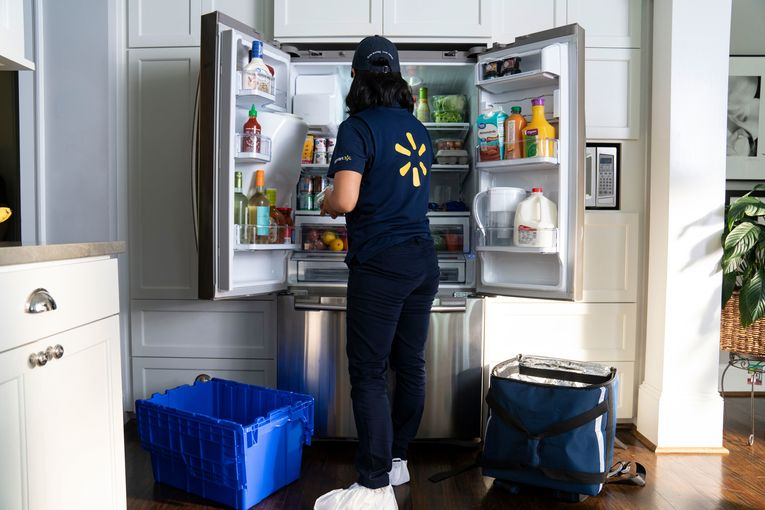 Walmart will launch direct-to-fridge deliveries in three cities