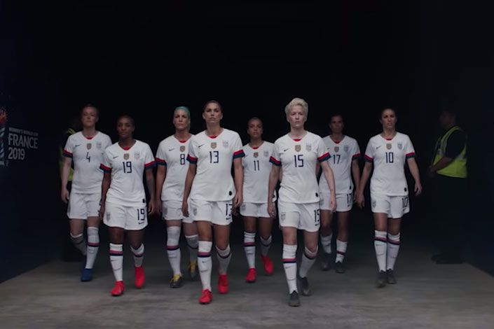 As U.S. women defend their World Cup crown, sponsors rush to lend support