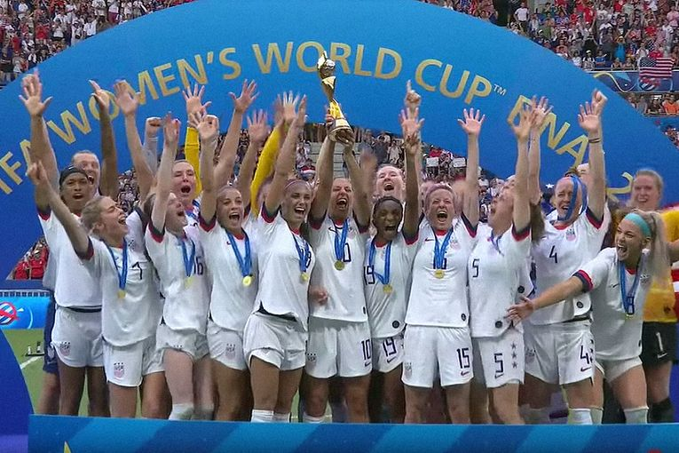 14 million TV viewers tuned in to watch U.S. women win the World Cup