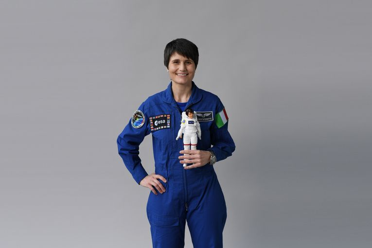The latest Barbie is Europe's only female astronaut