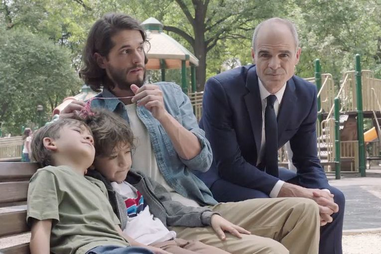 (Bald) actor Michael Kelly resents people with hair in Supercuts' brand campaign