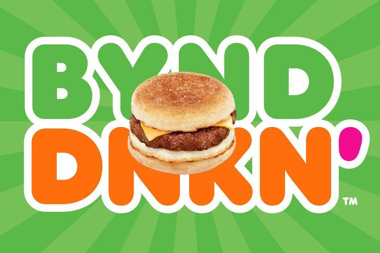 Beyond Meat will offer a new Dunkin' sandwich