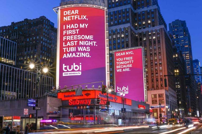 Tubi: OOH campaign