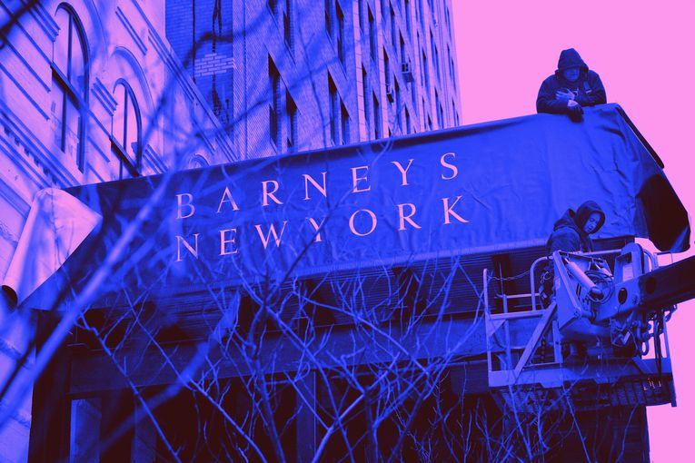 Iconic department store Barneys files for bankruptcy